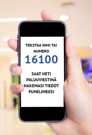 16400 Numeropalvelu